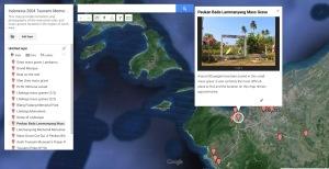 Indo Tsunami Memorial Maps